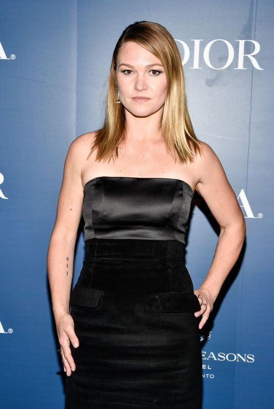 JULIA STILES at HFPA x Hollywood Reporter Party in Toronto 09/07/2019