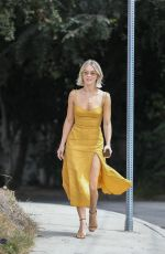 JULIANNE HOUGH Heading to a Party in Los Angeles 09/15/2019