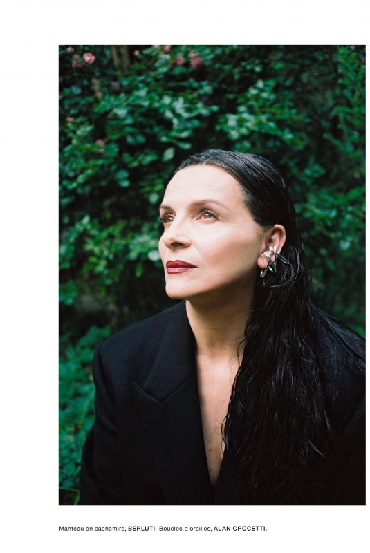 JULIETTE BINOCHE in Numero Magazine, France October 2019