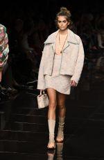 KAIA GERBER at Fendi Runway Show at Milan Fashion Week 09/19/2019