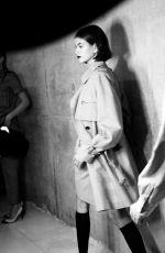 KAIA GERBER at Max Mara Show at Milan Fashion Week 09/19/2019