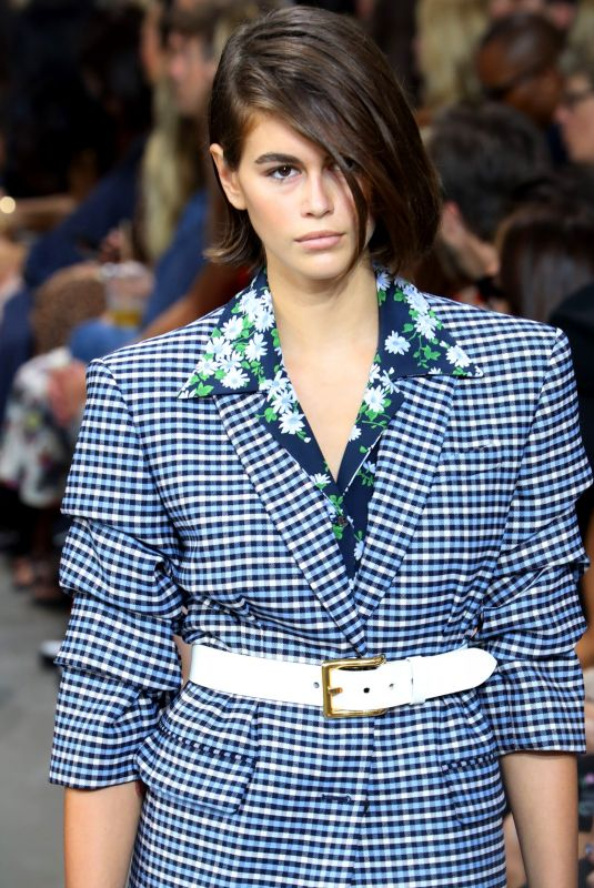 KAIA GERBER at Michael Kors Runway Show at New York Fashion Week 09/11/2019