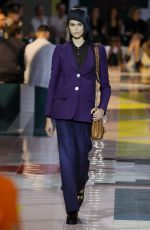 KAIA GERBER at Prada Ready to Wear Show at Milan Fashion Week 09/18/2019