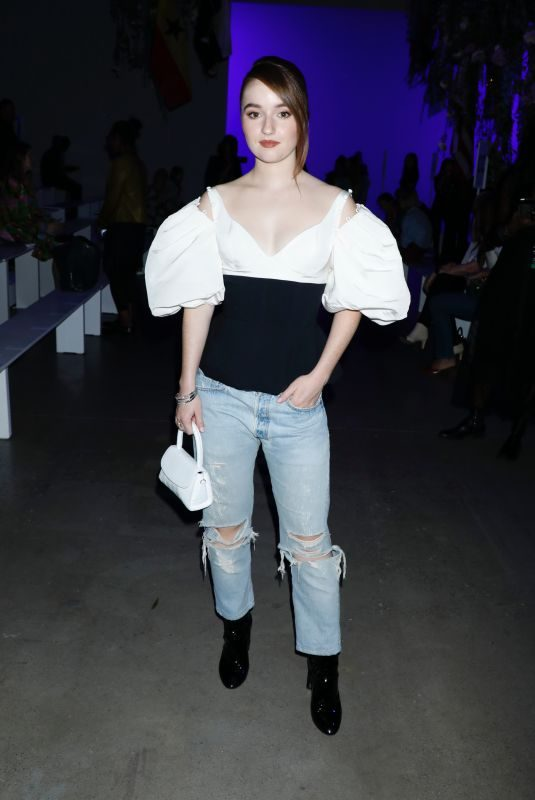 KAITLYN DEVER at Prabal Gurung Show at New York Fashion Week 09/08/2019