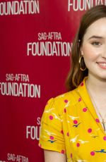 KAITLYN DEVER at Sag-aftra Foundation Conversation with Booksmart in Los Angeles 09/18/2019