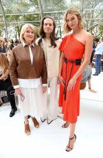 KARLIE KLOSS at Caroline Herrera Show at New York Fashion Week 09/09/2019