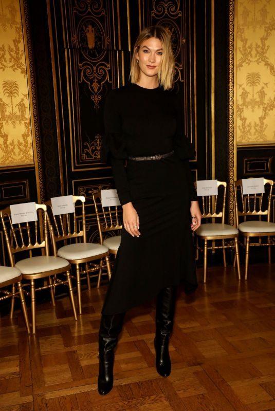 KARLIE KLOSS at Christian Siriano Show at Paris Fashion Week 09/25/2019