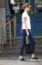 KARLIE KLOSS Leaves Gym in New York 09/12/2019