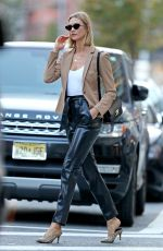 KARLIE KLOSS Out and About in New York 09/18/2019
