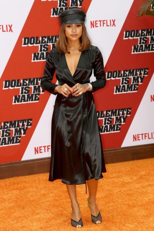 KARRUECHE TRAN at Dolemite Is My Name Premiere in Los Angeles 09/28/2019