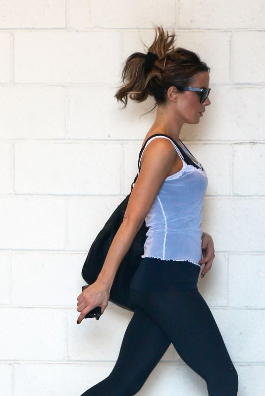 KATE BECKINSALE Arrives at a Gym in Los Angeles 09/18/2019
