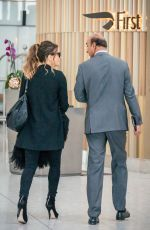 KATE BECKINSALE at Heathrow Airport in London 09/14/2019