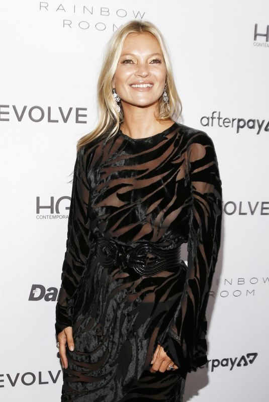 KATE MOSS at Daily Front Row Fashion Media Awards 2020 in New York 09/05/2019