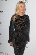 KATE MOSS at Daily Front Row Fashion Media Awards at New York Fashion Week 09/05/2019
