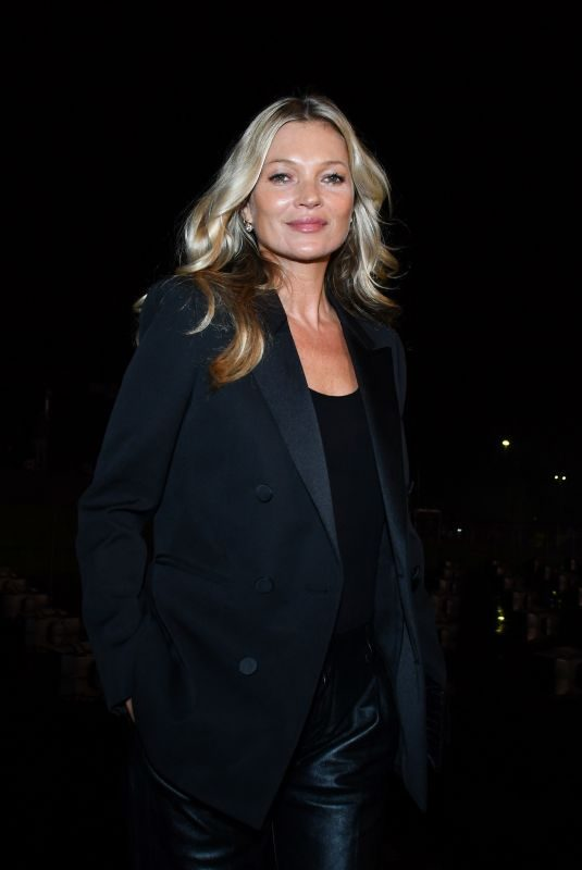 KATE MOSS at Saint Laurent Womenswear Fasion Show at PFW in Paris 09/24/2019