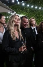KATE MOSS at Zadig & Voltaire x Kate Moss x Lou Doillon Party at Paris Fashion Week 09/25/2019