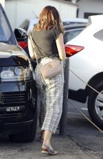 KATHARINE MCPHEE at a Parking Lot in Beverly Hills 09/27/2019