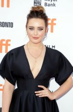 KATHERINE LANGFORD at Knives Out Premiere at 2019 Toronto International Film Festival 09/07/2019