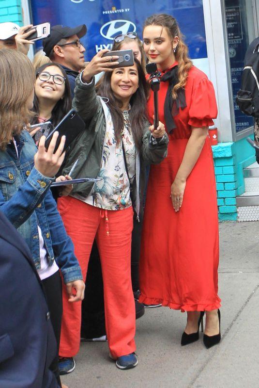 KATHERINE LANGFORD Out at Toronto International Film Festival 09/07/2019