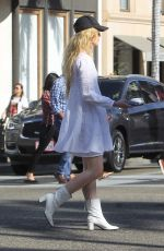 KATHRYN NEWTON Out and About in Beverly Hills 09/17/2019