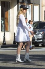 KATHRYN NEWTON Out in Beverly Hills 09/17/2019