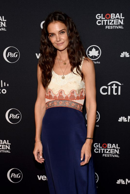 KATIE HOLMES at 2019 Global Citizen Festival: Power the Movement in New York 09/28/2019