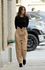 KATIE HOLMES Out and About in New York 09/09/2019