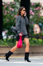 KATIE HOLMES Out in New York 09/11/2019