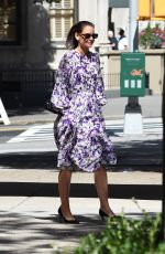 KATIE HOLMES Out in New York 09/17/2019