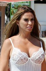 KATIE PRICE at a Photoshoot in Turkey 09/01/2019