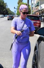 KATY PERRY Out and About in Los Angeles 09/03/2019