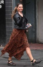 KELLY BROOK Out in London 09/07/2019