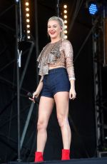 KELSEA BALLERINI Performs at BBC2 Radio Live 2019 at Hyde Park in London 09/15/2019