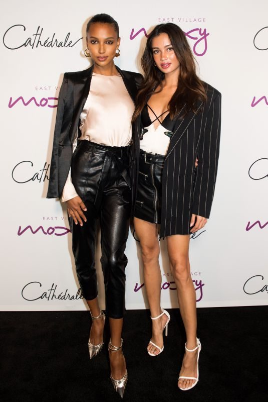 KELSEY MERRITT and JASMINE TOOKES at Cathedrale Restaurant Opening in nyc New York 09/10/2019