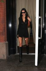 KENDALL JENNER Leaves Mercer Hotel in New York 09/10/2019