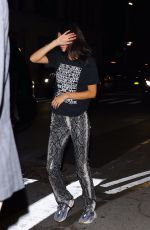 KENDALL JENNER Out for Dinner at Carbone in New York 09/11/2019