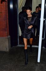 KENDALL JENNER Out for Dinner with Friends in New York 09/09/2019