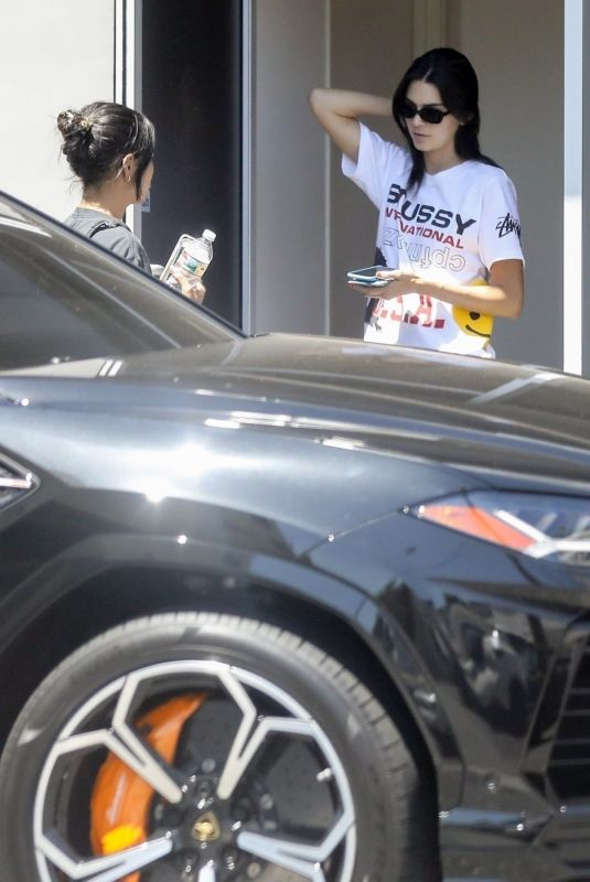 Kendall Jenner Takes Her Ferrari For A Service In Beverly Hills 09 03 2019 Hawtcelebs