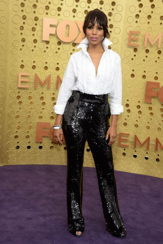KERRY WASHINGTON at 71st Annual Emmy Awards in Los Angeles 09/22/2019