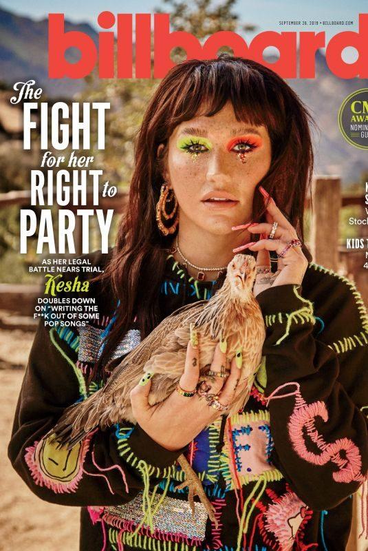 KESHA SEBERT in Billboard Magazine, September 2019