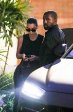 KIM KARDASHIAN and Kanye West at Cafe Habana in Malibu 08/31/2019