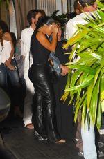KIM KARDASHIAN and Kanye West at Cafe Habana in Malibu 08/31/2019