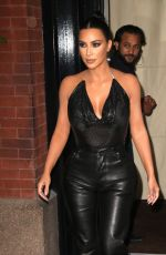 KIM KARDASHIAN Heading to Tonight Show Starring Jimmy Fallon in New York 09/11/2019