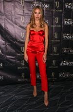 KIMBERLEY GARNER at World Fashion Awards 2019 in London 09/18/2019
