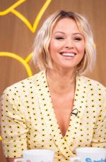 KIMBERLEY WALSH at Sunday Brunch Show in London 09/01/2019