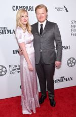 KIRSTEN DUNST and Jesse Plemons at The Irishman Screening at 57th New York Film Festival 09/27/2019