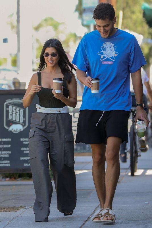 KOURTNEY KARDASHIAN and Fai Khadra Out in West Hollywood 09/12/2019