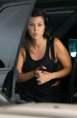 KOURTNEY KARDASHIAN Out and About in West Hollywood 09/05/2019