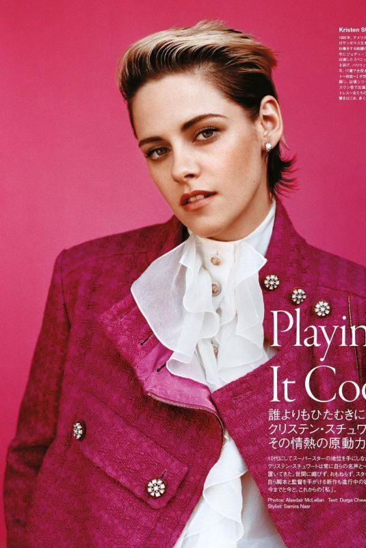 KRISTEN STEWART in Vogue Magazine, Japan November 2019