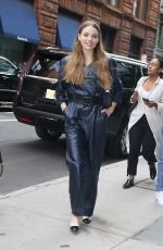 KRISTINE FROSETH Arrives at Build Series in New York 09/16/2019